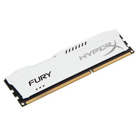 Ram Hyperx 8gb kingston 8gb hyperx fury ddr3 1600mhz cl10 white pc ram