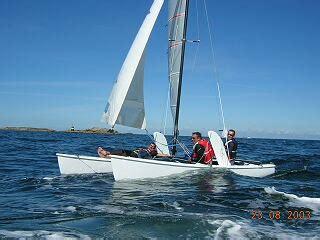 catamaran a vendre bretagne www bretagne voile catamarans hobiecat 18