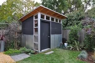 outdoor storage sheds modern