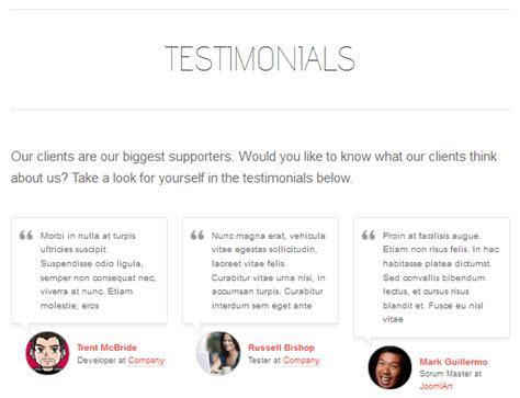 testimonials page template www pixshark com images