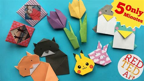 5 Minute Origami - best 5 minute crafts 5 easy origami projects