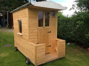 children s play house shepherds hut garden office shed on