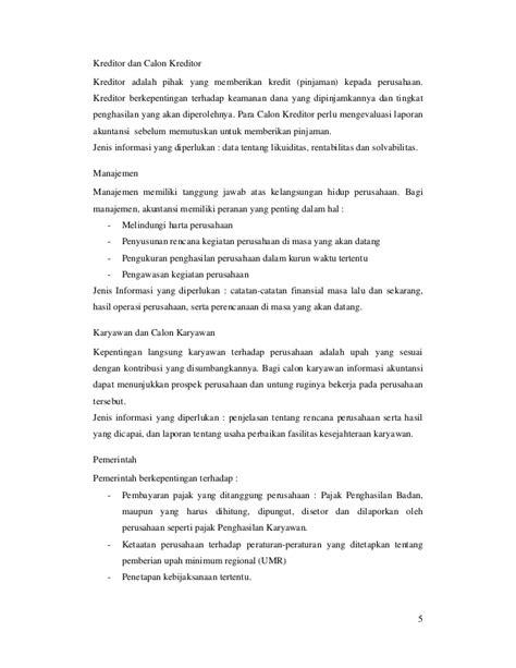 cara membuat laporan keuangan perusahaan industri cara membuat laporan keuangan perusahaan bab 1 akuntansi