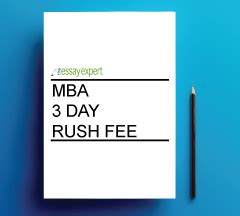 Mba In A Day Review by 3 Business Day Supplement Mba The Essay Expert