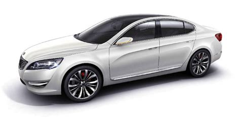 kia amanti 2010 kia previews 2010 amanti sedan with seoul motor concept