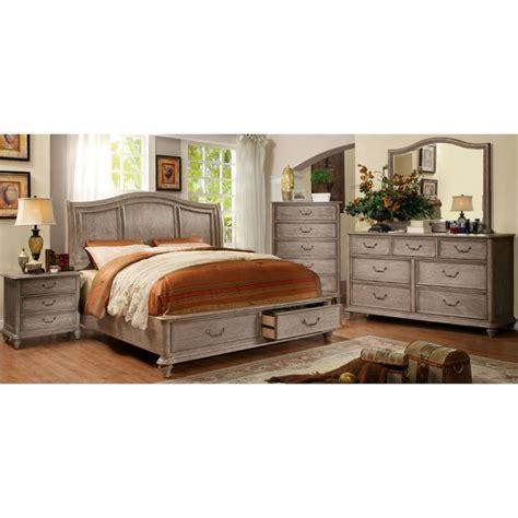 furniture of america bartrand 4 king bedroom set