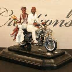 motorcycle wedding cake topper wedding and groom motorcycle newhairstylesformen2014
