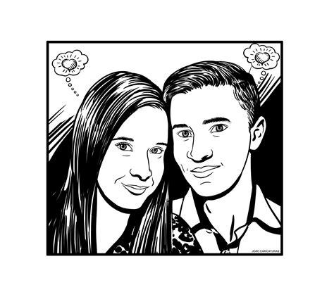desenho preto e branco desenho em preto e branco estilo hq jo 227 o caricaturas e