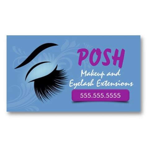 Eyelash Extension Business Card Template by 18 Best Images About Eyelash Extension Business Cards On