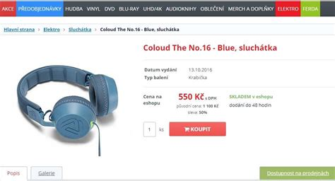 Coloud The No 16 sluch 225 tka coloud the no 16 tosevyplat 237