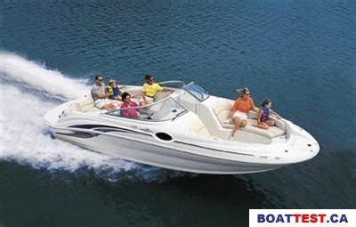 2001 sea ray 240 sundeck tested reviewed on us boat test - Sea Ray 240 Sundeck Boat Reviews