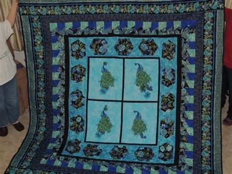 King Size Quilt And Shams King Size Peacock Quilt And Shams
