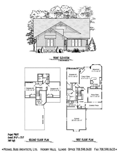 Infill House Plans by Project 98071 Craftsman Cottage Small Home Plan Infill
