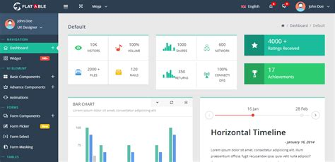 tutorial bootstrap flat design bootstrap admin template with flat design