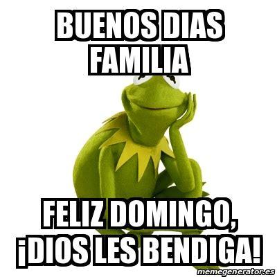 imagenes memes buenos dias familia meme kermit the frog buenos dias familia feliz domingo