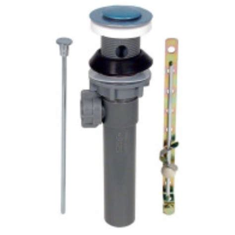 Replacing Bathtub Drain Assembly by Replacement Pop Up Drain Assembly With Overflow Chrome