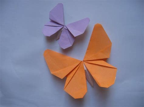 Origami Paper Butterfly - best 20 origami butterfly ideas on easy