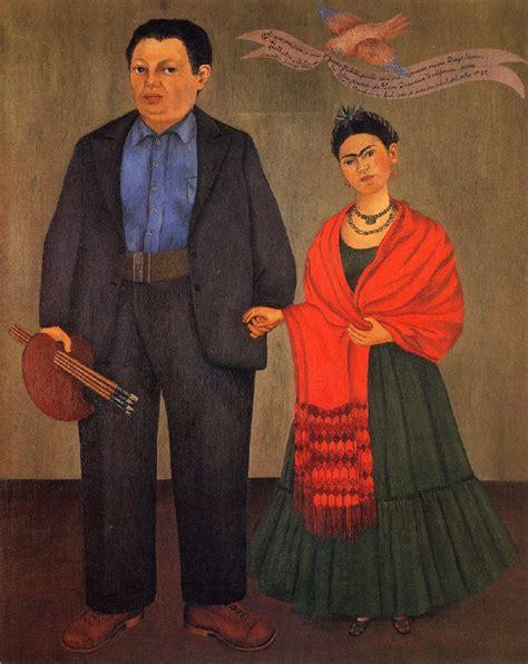 frida et diego rivera par frida kahlo 1001 tableaux
