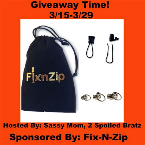 Giveaway Ends - fix n zip giveaway ends 03 29 15 fantabuless reviews