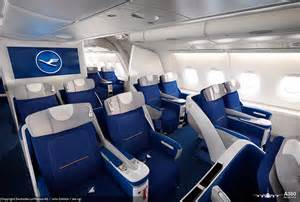 lufthansa s airbus a380 caign interior images by