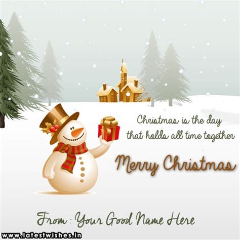 write    merry snowman  village  pictures latestwishesin