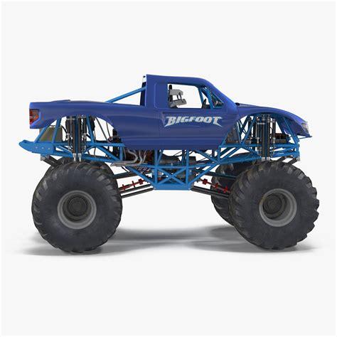 bigfoot truck model 3d model truck bigfoot generic