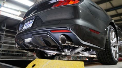ford mustang gt 2015 17 exhaust 3 quot chambered catback