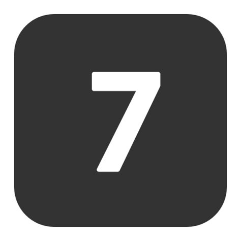 p figure 7 number 7 png image royalty free stock png images for