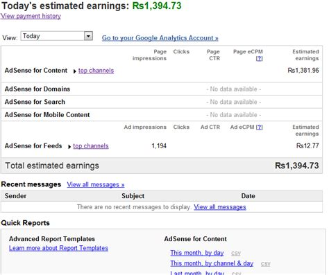 adsense revenue for google my google adsense earnings are awesome your google adsense