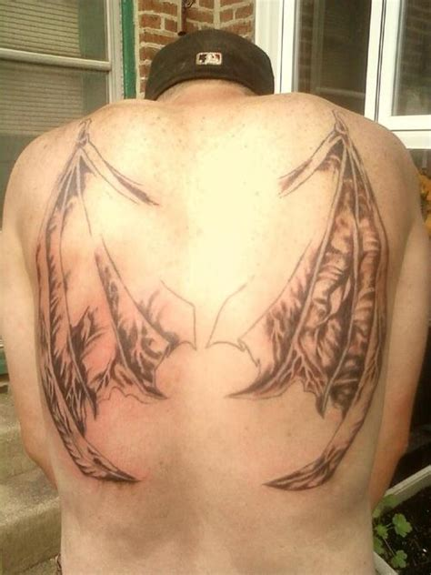 bat wing tattoo bat tattoos designs ideas and meaning tattoos for you