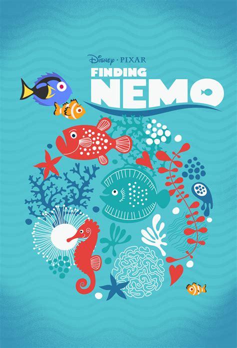 NEW POSTER: Pixar's FINDING NEMO ? Laz Marquez
