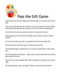 pass the gift game 2 pdf thirty one pinterest the