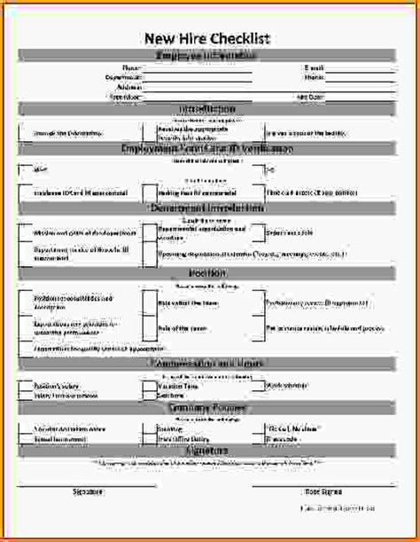 new employee form template new hire form template 28903544 png loan application form