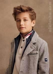 junior haircuts alalosha vogue enfants armani fw14 15 boys collection