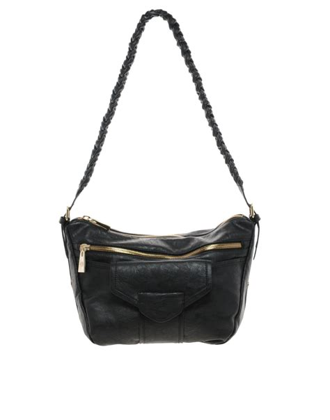Mischa Bartons Mystery Handbag by Mischa Barton Franklin Shoulder Bag In Black Lyst