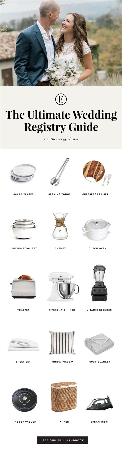 Wedding Registry Guide by The Everygirl S Wedding Registry Guide The Everygirl