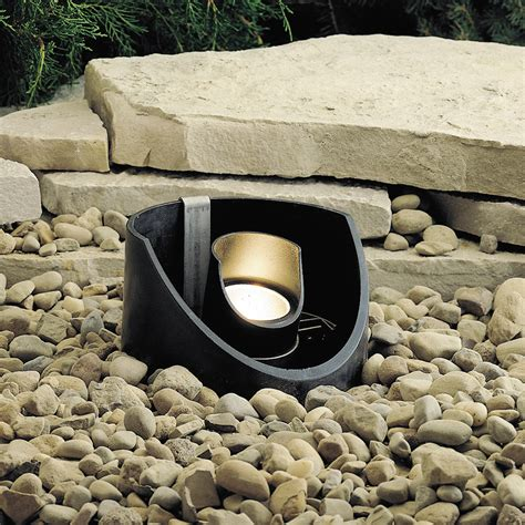 Kichler Well Light Kichler 15092bkt 12v Outdoor In Ground Well Light