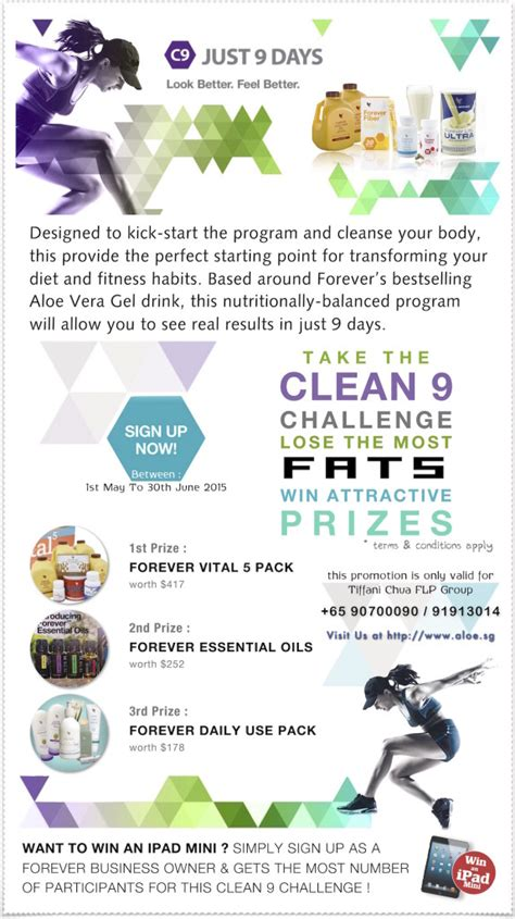 Forever Living Clean 9 Detox Ireland by Clean 9 Lose Challenge Forever Business Owner