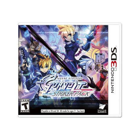 Kaset 3ds Azure Striker Gunvolt Striker Pack size revealed for azure striker gunvolt striker pack on nintendo switch idealist