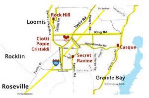 loomis california map loomis loop