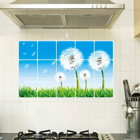 cheap removable wall stickers popular kitchen wall tile stickers buy cheap kitchen wall tile stickers lots from china kitchen
