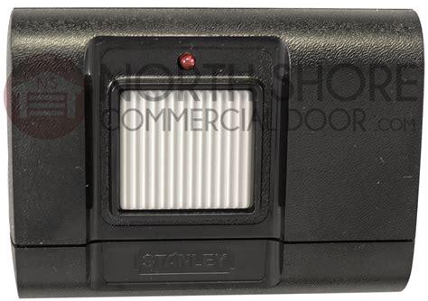 Stanley Multi Code Garage Door Opener Multi Code Stanley 1050 105015 Garage Door Opener Remote