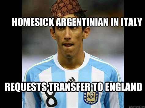 Maria Meme - homesick argentinian in italy requests transfer to england