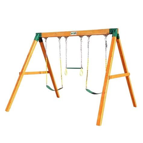 gorilla playsets free standing swing 01 0002 the home depot