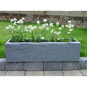effect trough planters