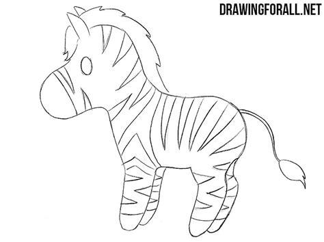 draw  chibi zebra drawingforallnet
