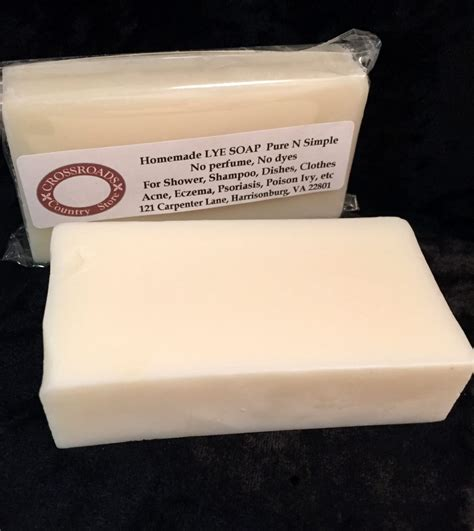 Handmade Lye Soap - lye soap n simple confederate shop