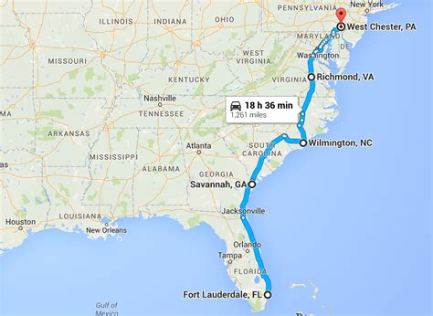 road map us east coast twosidedtravels east coast road trip pt 2 two sided