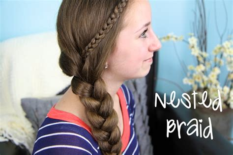 cute girl hairstyles easy the nested braid easy hairstyles cute girls hairstyles
