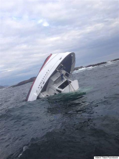 sinking boat canada whale watching boat sinks near tofino b c